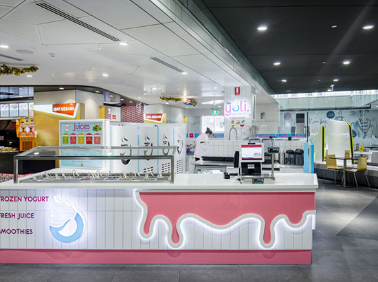 Yoli Frozen Yogurt - image yoli-3 on https://www.esgeejoinery.com.au